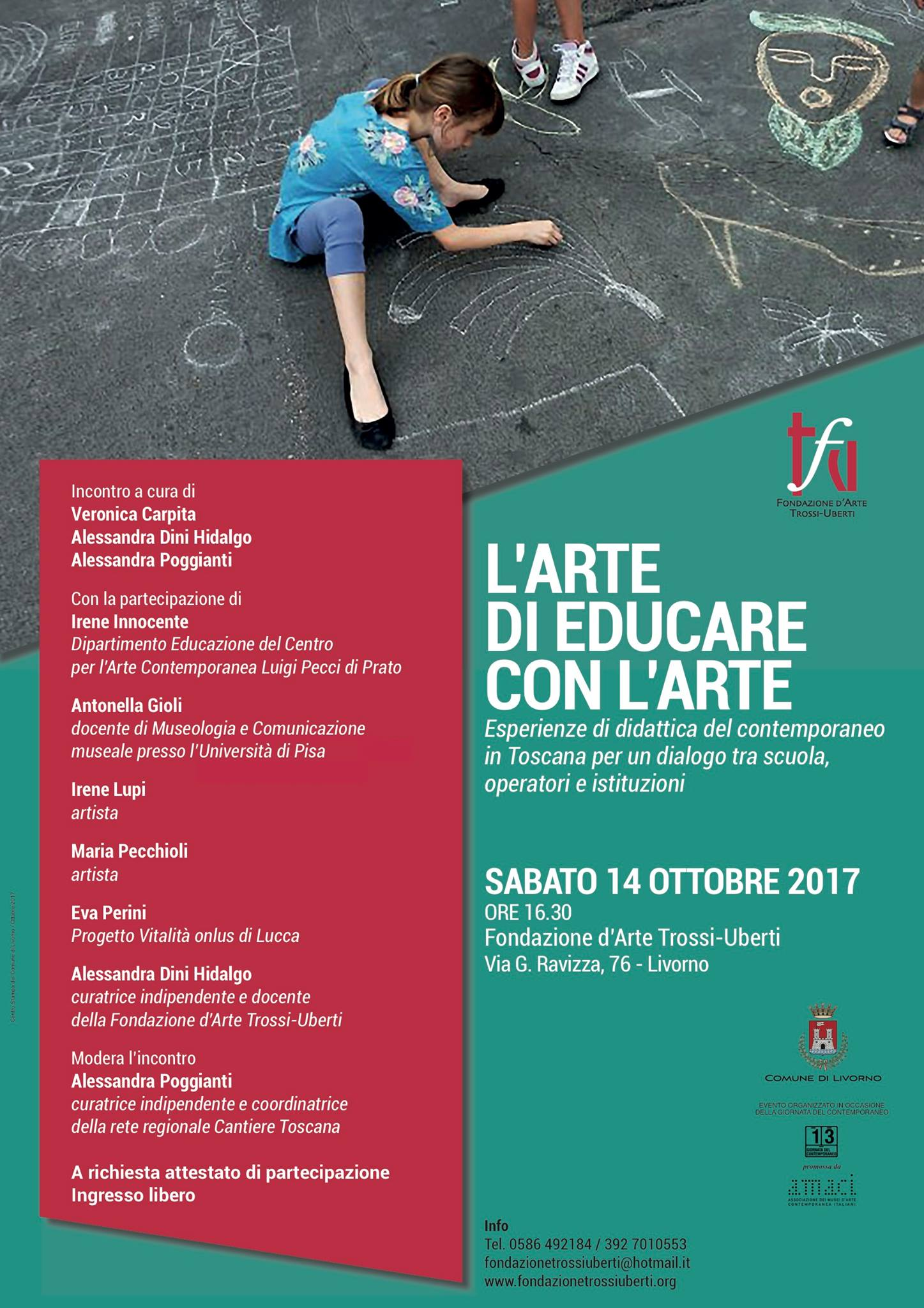incontro_Artedi EducareconArte_livorno